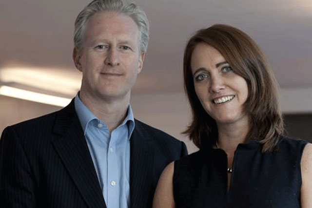 Havas Worldwide London: chief executive Russ Lidstone and new appointee Emily Somers