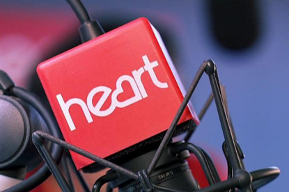 Heart: UK's biggest commercial radio station suffered a 2.2% year in year drop in average weekly audience