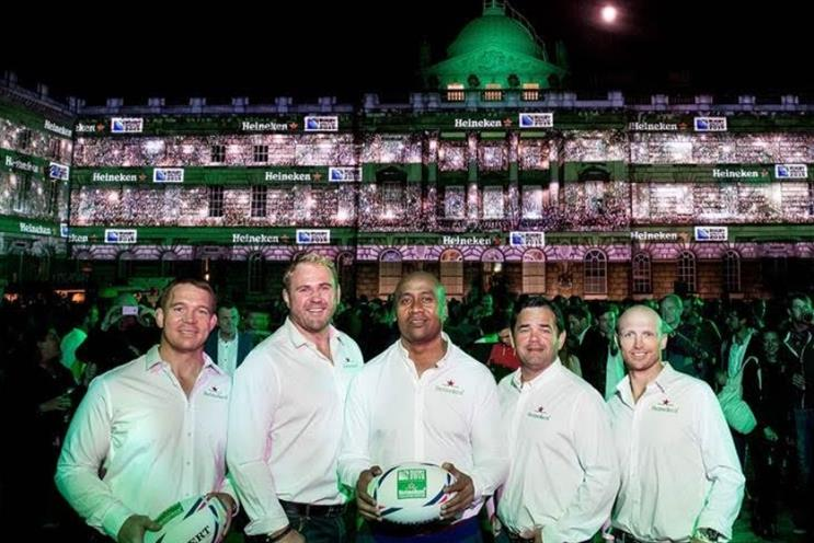 Heineken: kicked off rugby World Cup sponsorship with virtual reality stadium