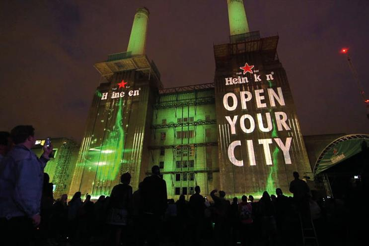 Heineken at Battersea Power Station