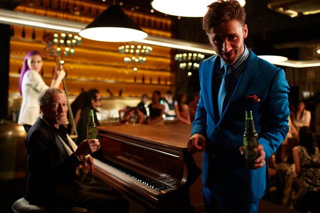 Heineken: offers nightlife recommendations via Twitter