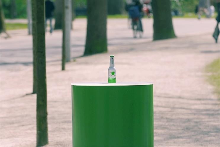 Heineken: driving footfall through GPS-enabled beer bottles