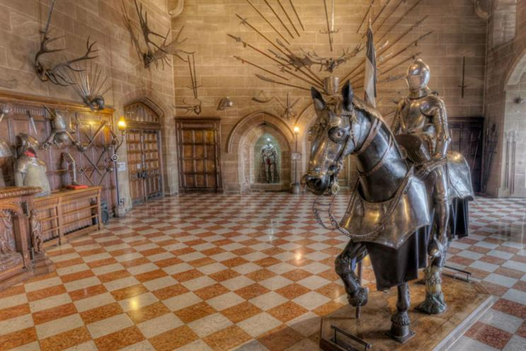VisitBritain: Warwick Castle is just one of the UK's historical venues people can explore via the new blog