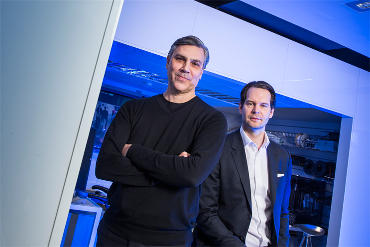 Patrick Reid (right) is the chief executive and Julian Baker is the executive creative director at Imagination EMEA
