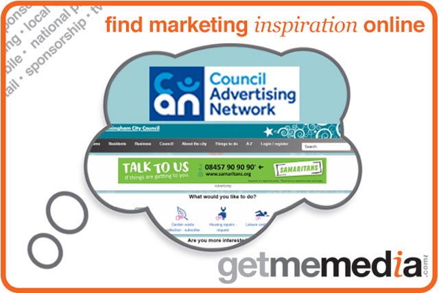 Reach consumers by advertising on their local council websites