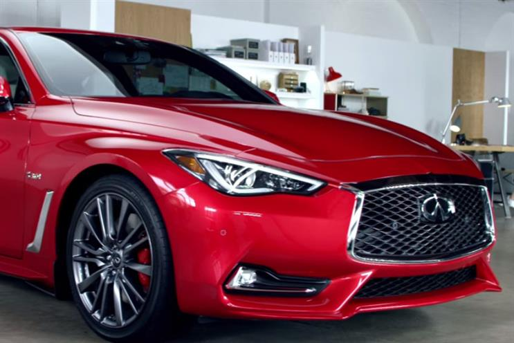 Nissan moves global Infiniti advertising into 72andSunny