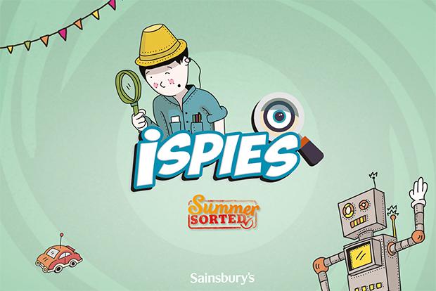 Sainsbury's: created iSpies app to entertain kids on summer hols