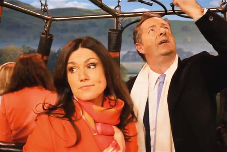 ITV: 'Good Morning Britain' presenters Susanna Reid and Piers Morgan