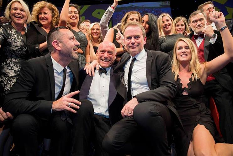 ITV: last year's Sales Team of the Year