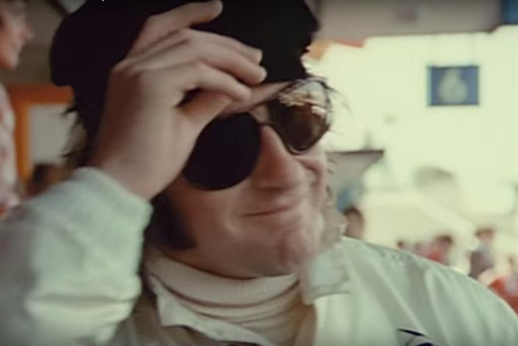 Jackie Stewart: starred in Heineken's 'When you drive, never drink' campaign which broke in August