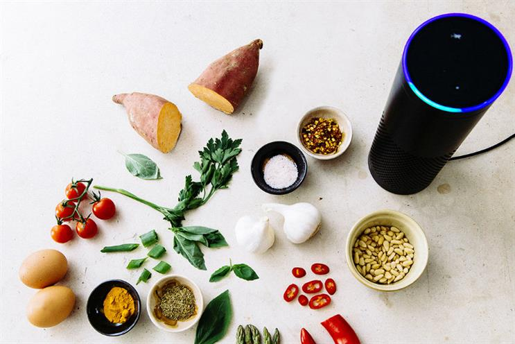 Jamie Oliver: the brand has created a voice-controlled cooking skill for Amazon's Alexa
