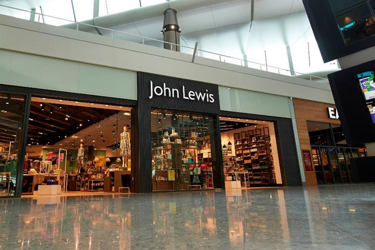 John Lewis: charges £2 for click-and-collect orders under £30