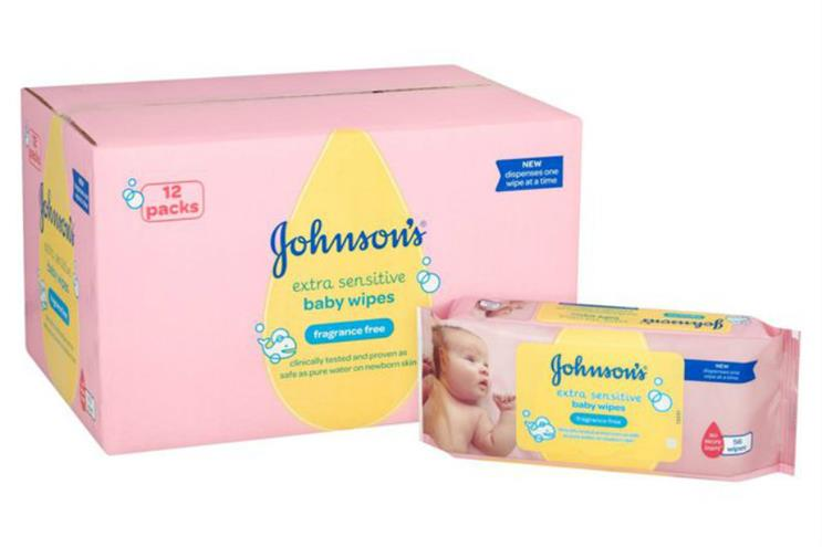 Johnson's Baby: looking to differentiate from private label