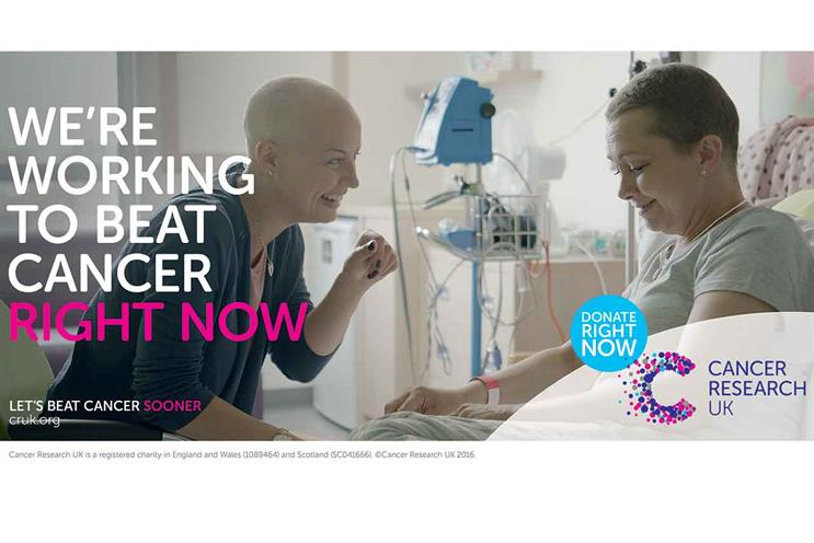 """""""Mandy & Jude"""". More than cancer patients, these are real women with a sense of humour."""