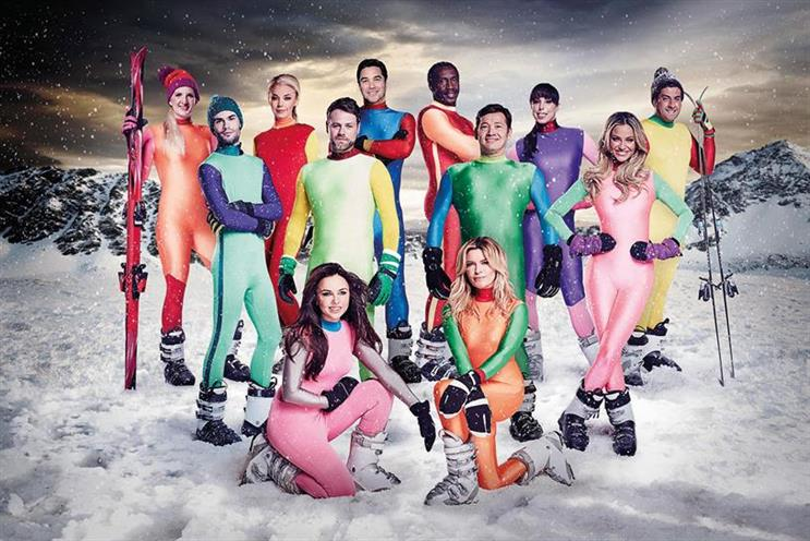 Off-piste: Channel 4's The Jump and ITV's Cilla (below) were part-funded by agencies and advertisers through programme finance
