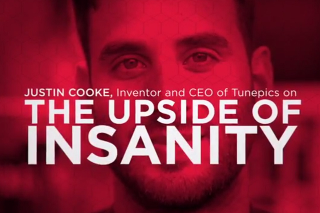 Justin Cooke: a big fan of insanity