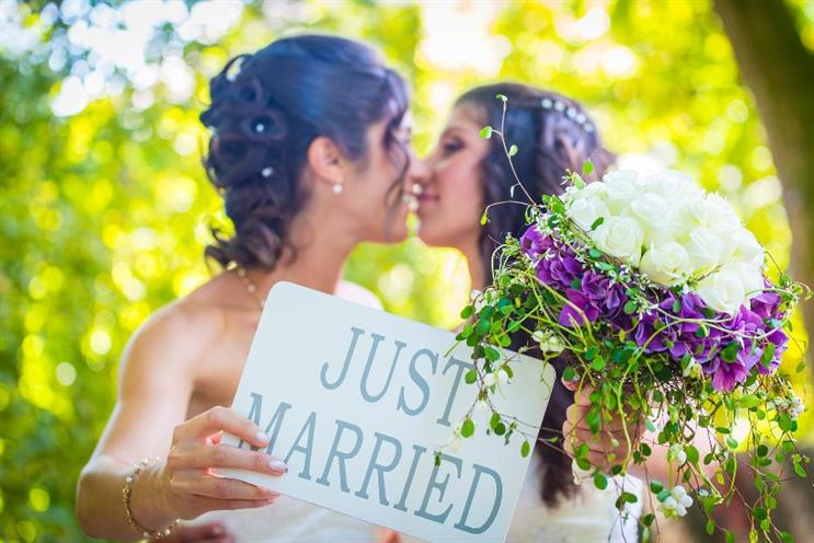 Brands are failing to capitalise on the rising numbers of gay marriage