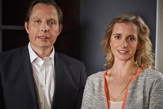 Leo Burnett London: new MD Katie Lee, right, with chief executive Paul Lawson
