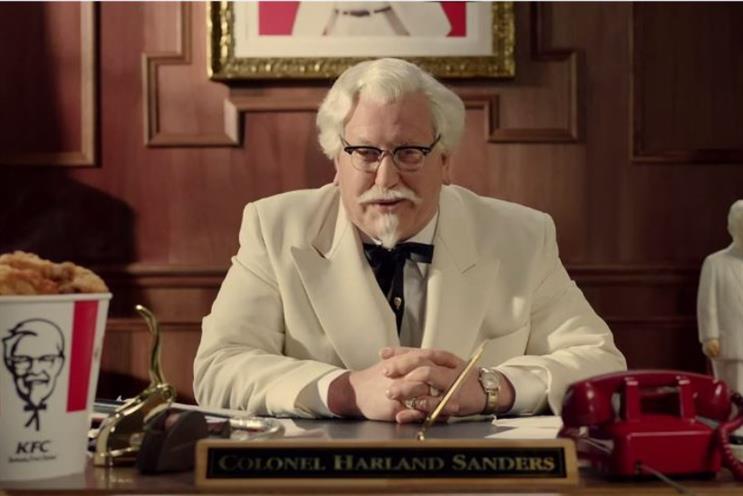 Colonel Sanders: KFC brand mascot