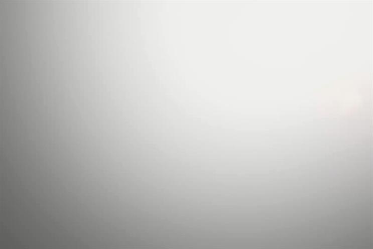 Kit-Kat: latest ad features this blank grey abyss