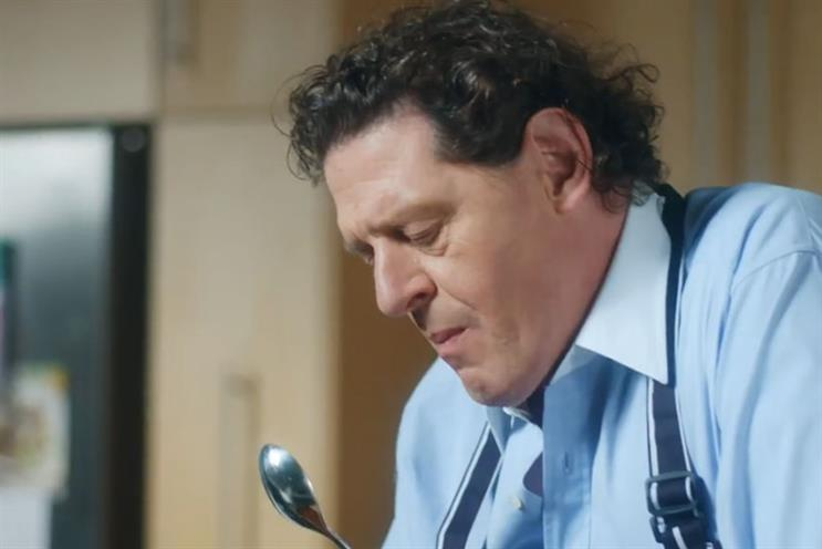 Knorr's Marco Pierre White spot could be so much more creative and inspiring