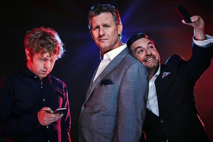 The Last Leg: hosts Josh Widdicombe, Adam Hills and Alex Brooker
