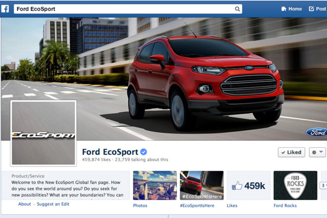 Connected Campaign of the Month: Ford EcoSport