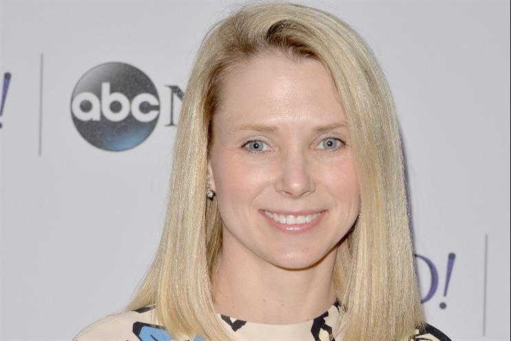 Marissa Mayer: the Yahoo chief says the firm will spin off its internet businesses