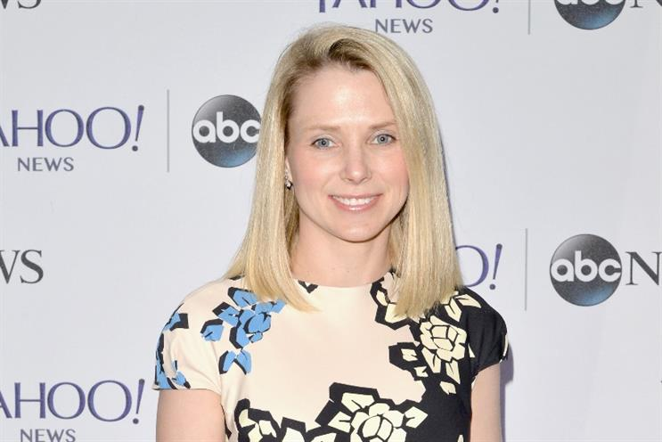 Yahoo: CEO Marissa Mayer presides over a company worth zero