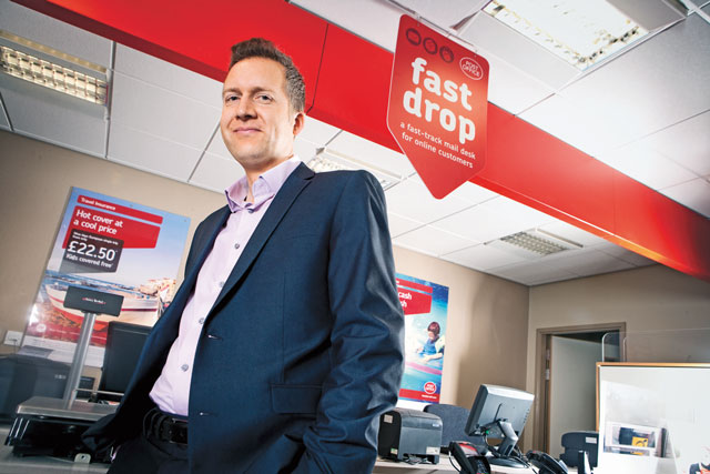 Pete Markey, chief marketing officer, Post Office