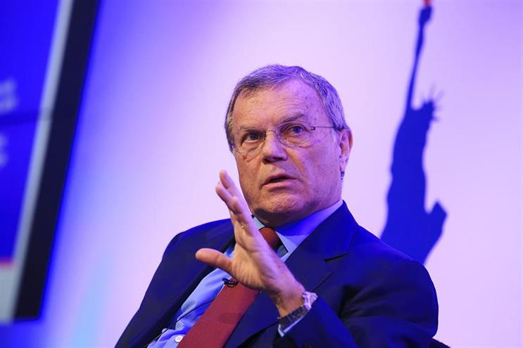 Sir Martin Sorrell: founder and chief executive of WPP