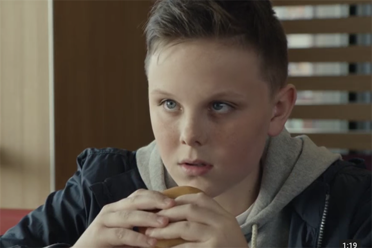 McDonald's: ad was critcised for exploiting child bereavement