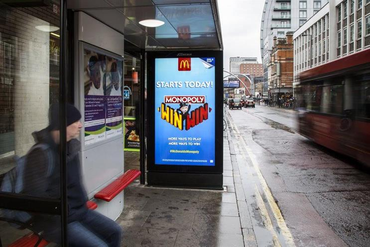 McDonald's: last week's campaign with Monopoly used Qdot's OpenLoop platform