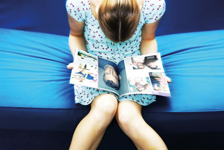 Magazines: millennials showed an increase in positivity after reading their chosen brand. Credit: Getty Images