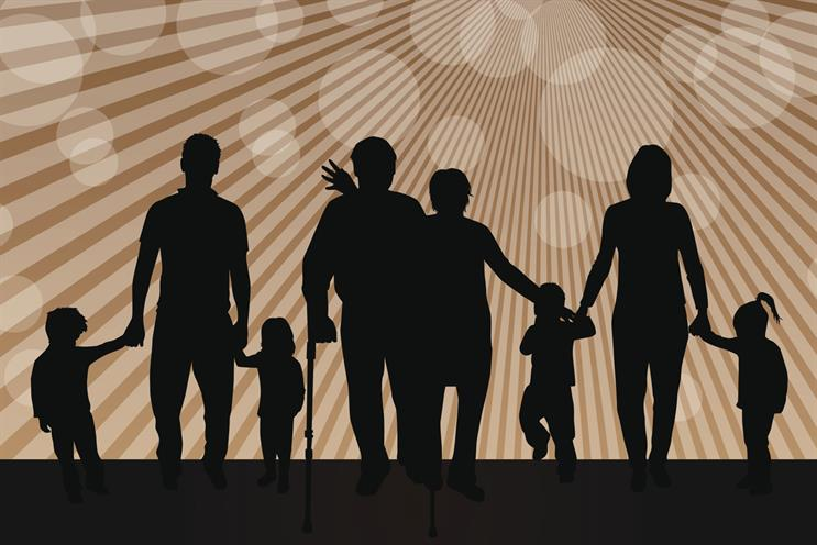 Generation game: the family unit has expanded and decision-making has become more complex. Credit: Thinkstock