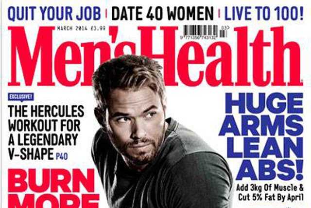 Men's Health: highest combined pint and digital circulation in men's mgazines sector