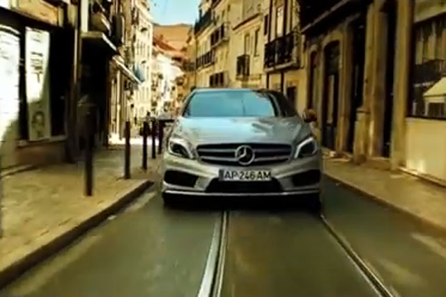 Mercedes-Benz: '#youdrive' campaign by Abbott Mead Vickers BBDO