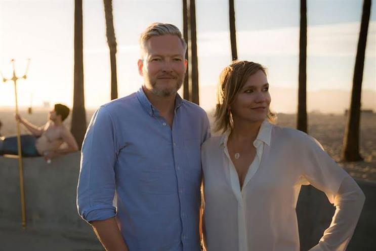 Jeremy Rainbird and Kira Carstensen: team up to create talent-led branded ads