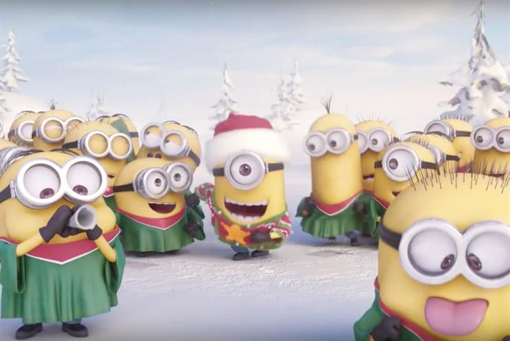 Minions: the Christmas ad is the most-shared