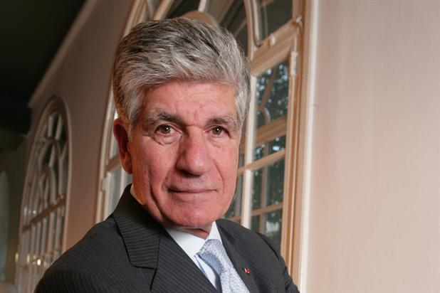 Maurice Lévy, the chairman and chief executive of Publicis Groupe
