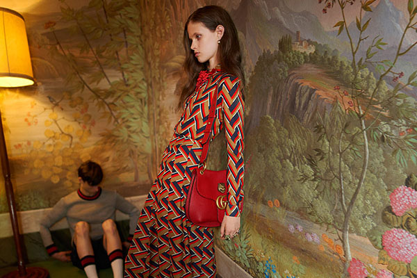 Gucci: ASA banned its online ad earlier this month for featuring an 'unhealthily thin' model