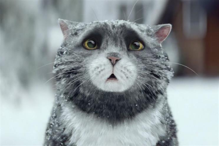 Mog: the Sainsbury's ad is the most shared this week