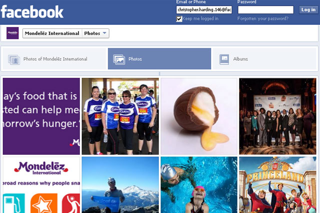 Mondelez International: enters into global strategic partnership with Facebook
