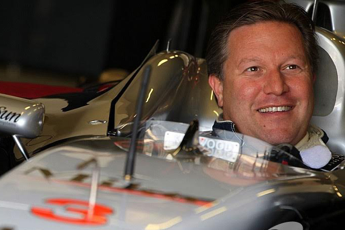 Brown: believes F1 could learn more from American racing events such as Nascar