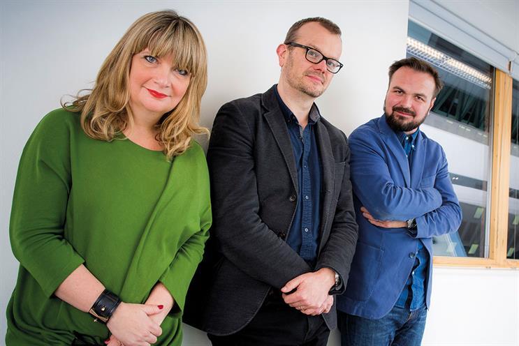 MRM Meteorite: Nicky Bullard, Chris Whitson and Olly Foot