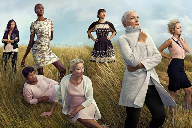 M&S: latest campaign, shot by Annie Leibovitz, stars Doreen Lawrence, Emma Thompson and Annie Lennox
