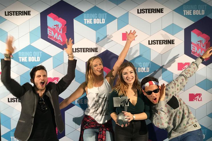 Listerine gives MTV EMA awards a minty aroma