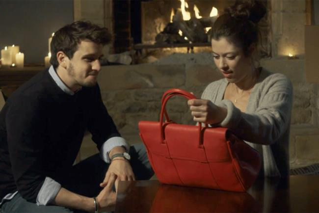 Mulberry: last year's Christmas campaign reimagined the nativity