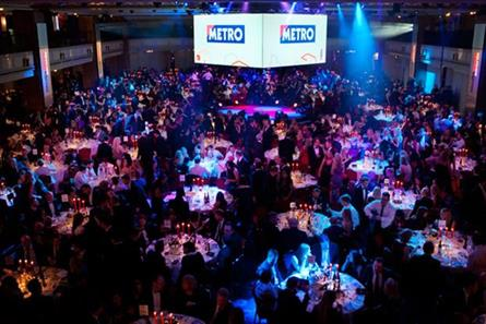 Media Week Awards: nearly 1,400 people are expected at the Grosvenor House hotel