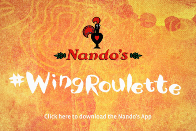 Nando's: 'wing roulette' by 18 Feet & Rising